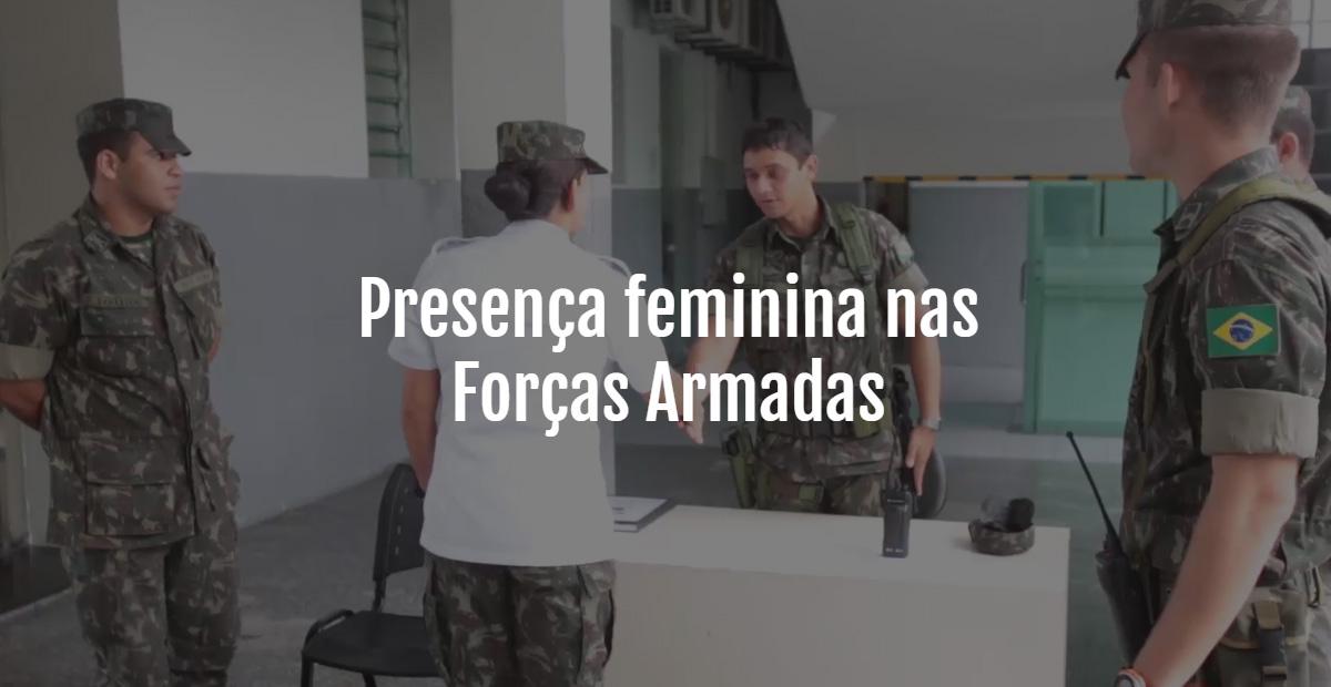 Presença feminina nas Forças Armadas - Diário do Nordeste Plus e874b60bdb2b6